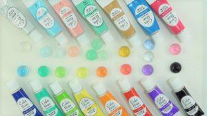 ダイソーのカラーレジン液15色